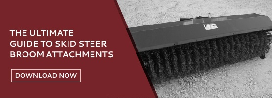Guide to Skid Steer Broom Attachments