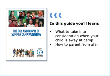 The Do's and Don'ts of Summer Camp Parenting