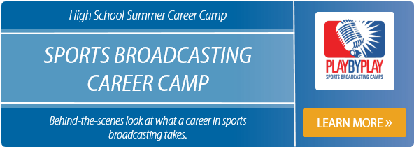 Learn more about the summer sports broadcasting career camp