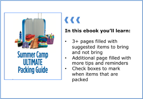 Summer Camp Ultimate Packing Guide