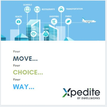 Xpedite by Dwellworks is a modern approach to global employee relocation. Visit go.dwellworks.com/xpedite