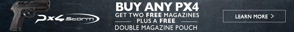 Get 2 free magazines plus a free magazine pouch