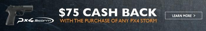 Px4 $75 Cash Back