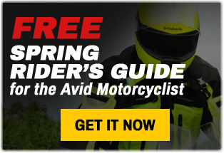 Spring motorcycle gear maintenance adventures trips coupon 2015