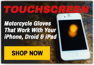 Best leather touchscreen motorcycle gloves