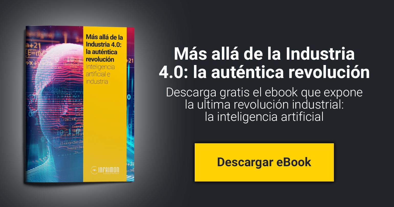 [Descarga gratis el ebook]  Tecnologia e Industria: la fábrica 4.0  Descubra las claves de la evolución en la industria