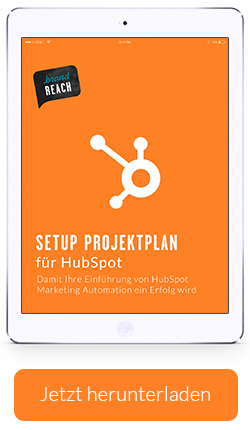 HubSpot Setup Projektplan
