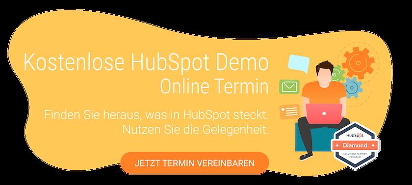 HubSpot Online Demo buchen
