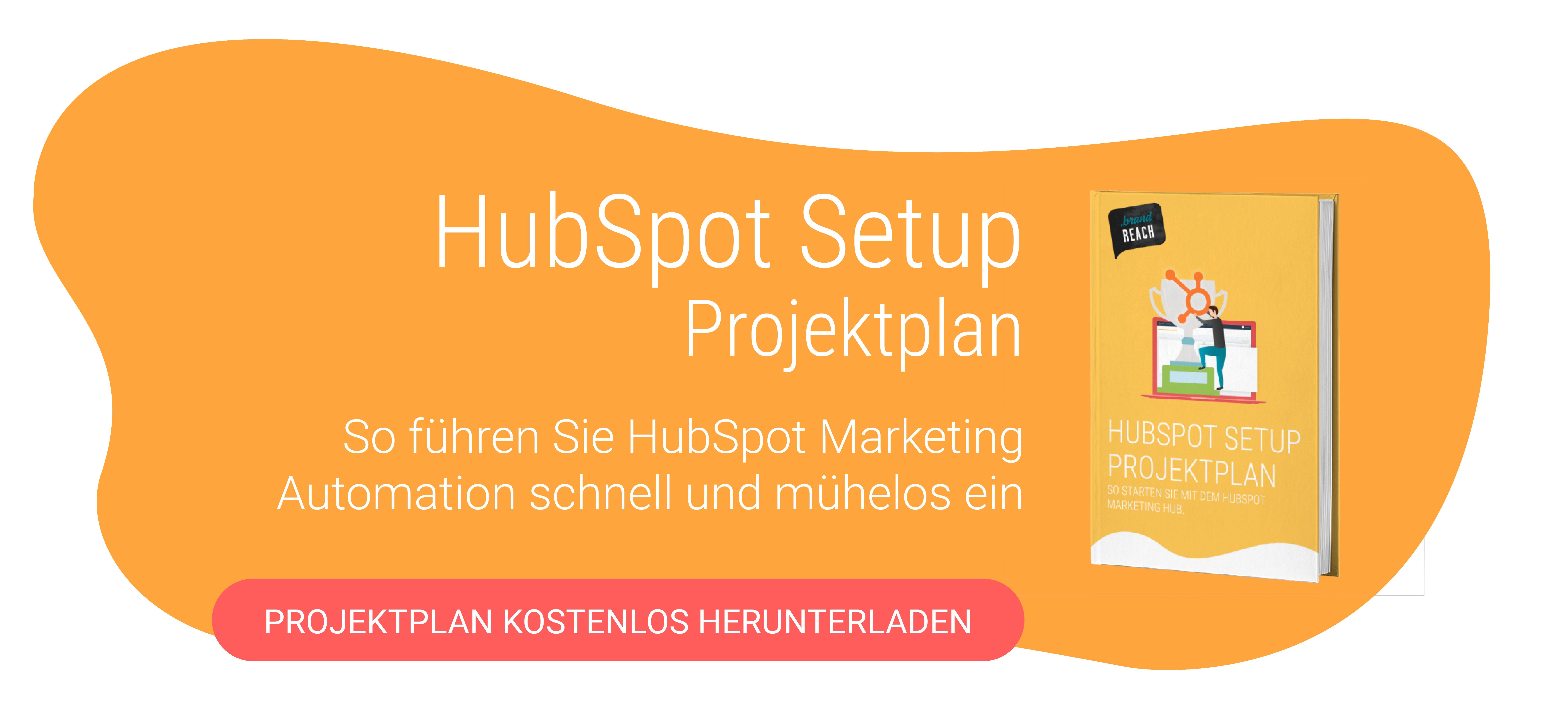 HubSpot Markting Hub Setup Projektplan Download