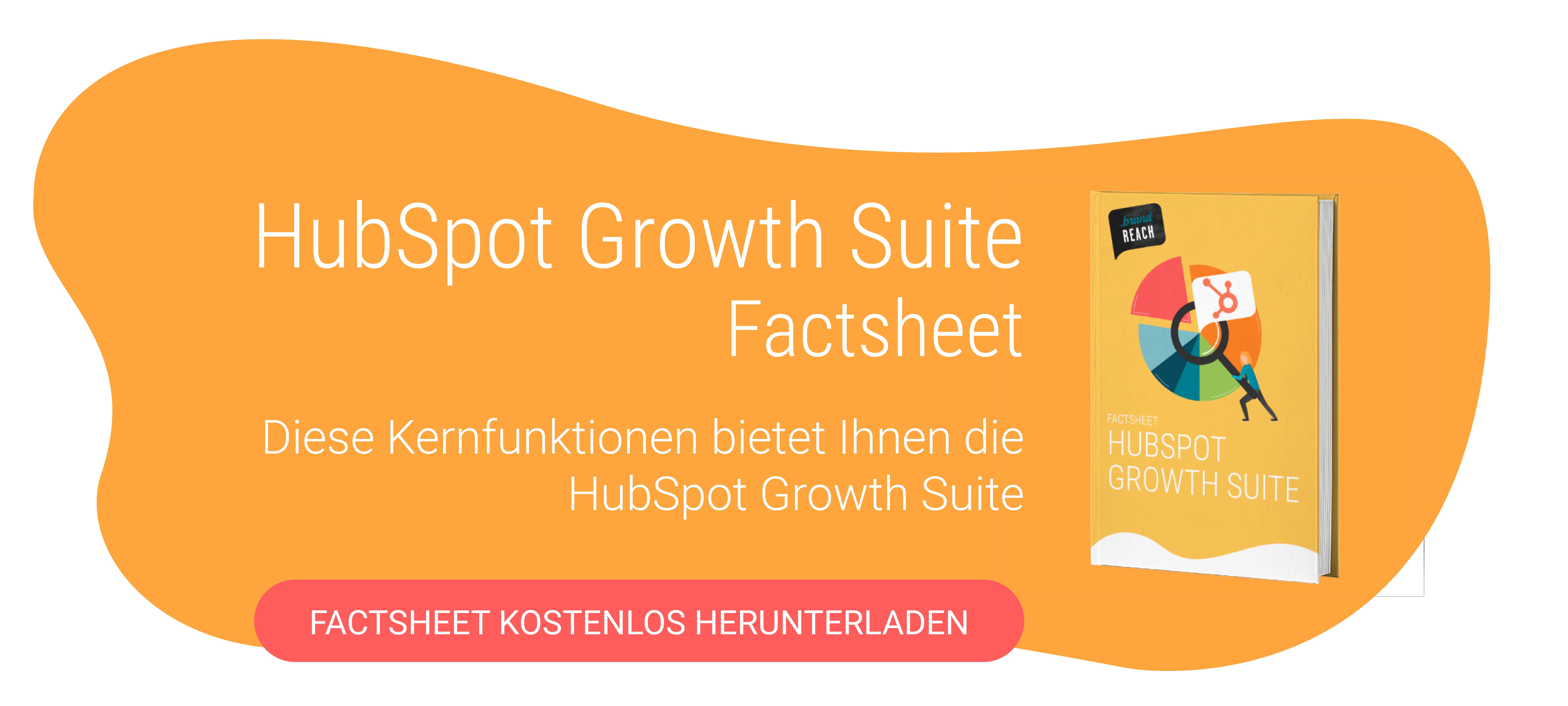 HubSpot Growth Suite Factsheet Download