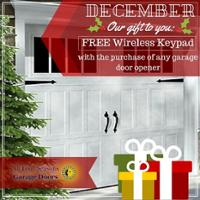 December Promotion Free Wireless Keypad