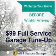 September Garage Door Opener Sale
