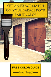 Get an Exact Match on Your Garage Door Paint Color