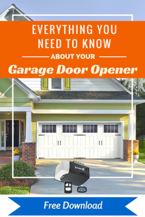 Everything You Need To Know About Your Garage Door Opener