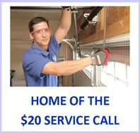 Service Call for Garage Doors Marietta GA