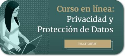 Inscripcion Curso en linea Privacidad y Proteccion de Datos
