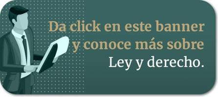 Banner para notas en blog sobre Ley y derecho