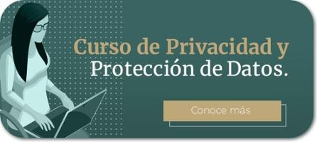 Banner curso online Privacidad y Protección de Datos