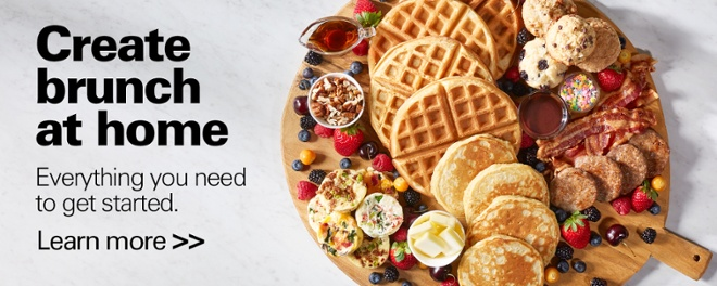 Create brunch at home