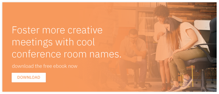 Download free e-book: Creative Conference Room Names for a More Creative  Workforce