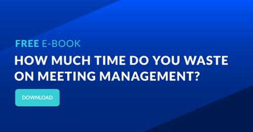 How much time do you waste on meeting management?