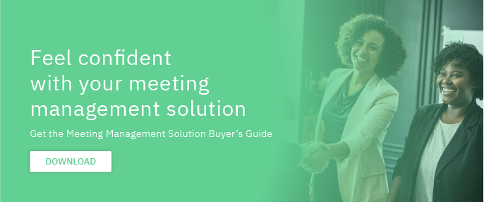 Free E-book: Feel confident with your meeting management solution