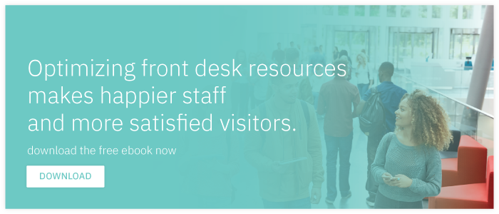 Download Free E-book: Ways to Optimize Front Desk Resources and Improve Visitor  Satisfaction