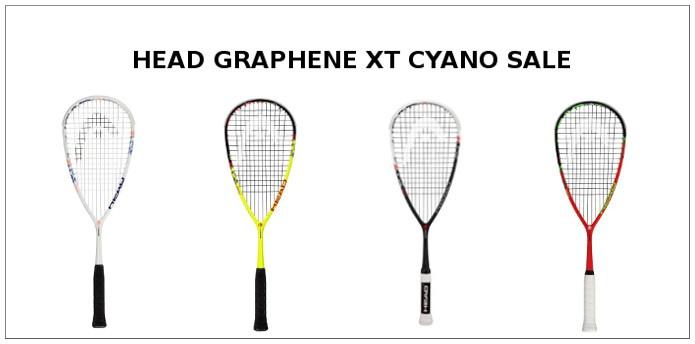 HEAD Graphene XT Cyano Sale