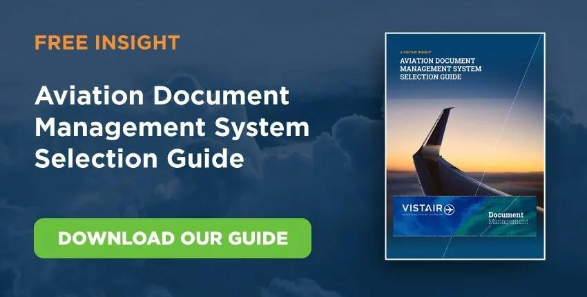 Aviation document management system selection guide