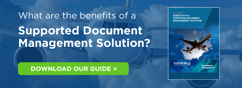 The benefits of a supported document management solution