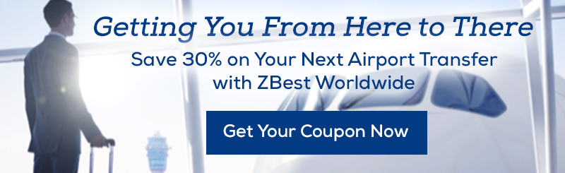 Book online to save 30% off airport transfers