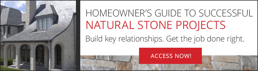 Homeowner's Guide to Natural Stone Projects