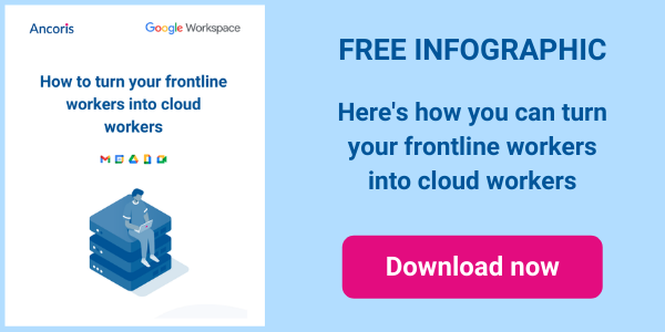 Download infographics Turn frontline into cloud workers