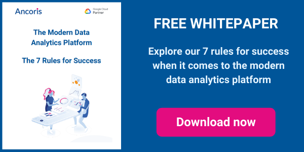 Modern data analytics platform - 7 rules for success