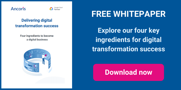 Delivering digital transformation success - four key ingredients