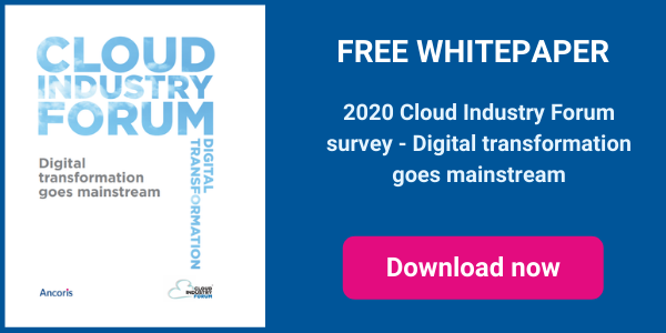 Digital transformation goes mainstream - Cloud Industry Forum whitepaper