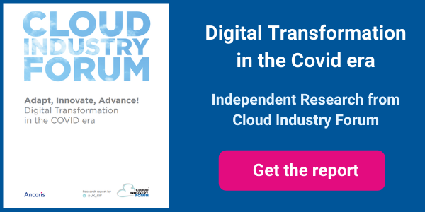 Cloud Industry Forum Research Digital Transformation in Covid Era