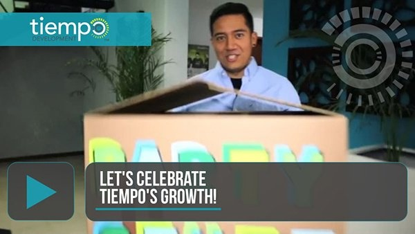 Video: Celebrating Tiempo's Growth!