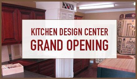 Kitchen Design Center Grand Opening!