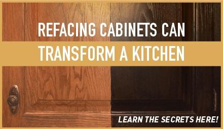 Refacing Cabinets Can Transform a Kitchen