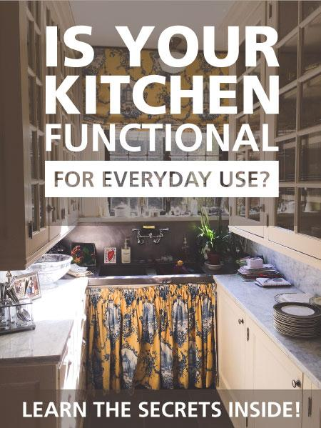 Is your kitchen functional?
