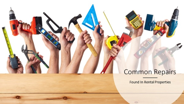 Common Repairs