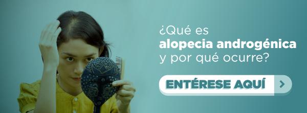 Alopecia androgénica - Mujeres