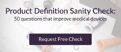 Product Development Sanity Check