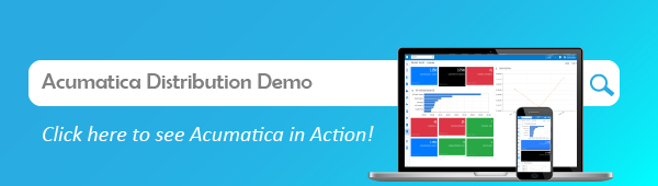 See the Acumatica Distribution Edition demo in action!