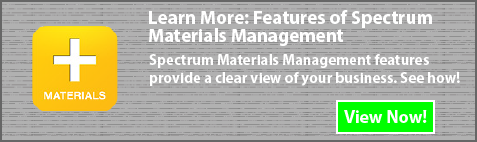 spectrum materials management