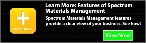 spectrum materials management