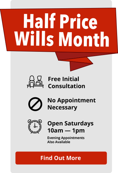Hunt Solicitors Wills Month sidebar CTA