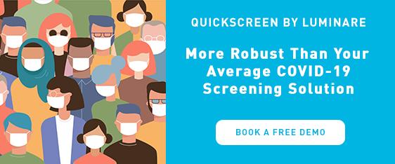 Quickscreen by Luminare COVID-19 Screening Solution Demo