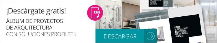 DESCARGA GRATIS Álbum de proyectos de arquitectura con soluciones PROFILTEK